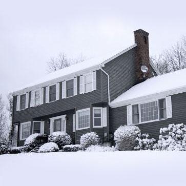 heated winter house